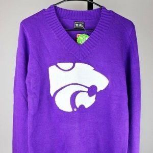 Sweaters - Kansas State Wildcats Women's V-Neck Sweater